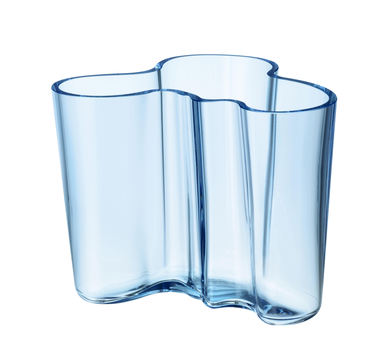 aalto vase h 12 cm light blue h 12 cm by iittala. Black Bedroom Furniture Sets. Home Design Ideas