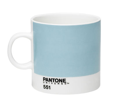 Image du produit Tasse à espresso Pantone Universe™ / 12 cl - ROOM COPENHAGEN Blanc,Bleu Clair en Céramique