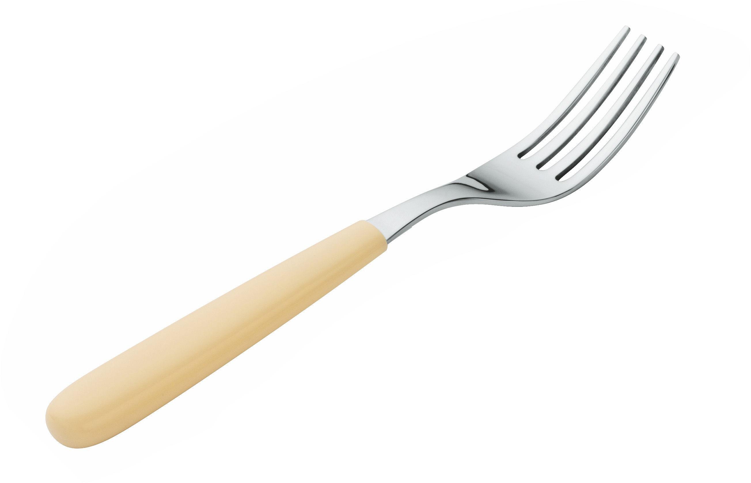 Fourchette all time fourchette ivoire a di alessi - La table libanaise la fourchette ...