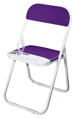 Papiers peints cr atifs pour une salle de bain design design feria - Chaise pliante pantone ...