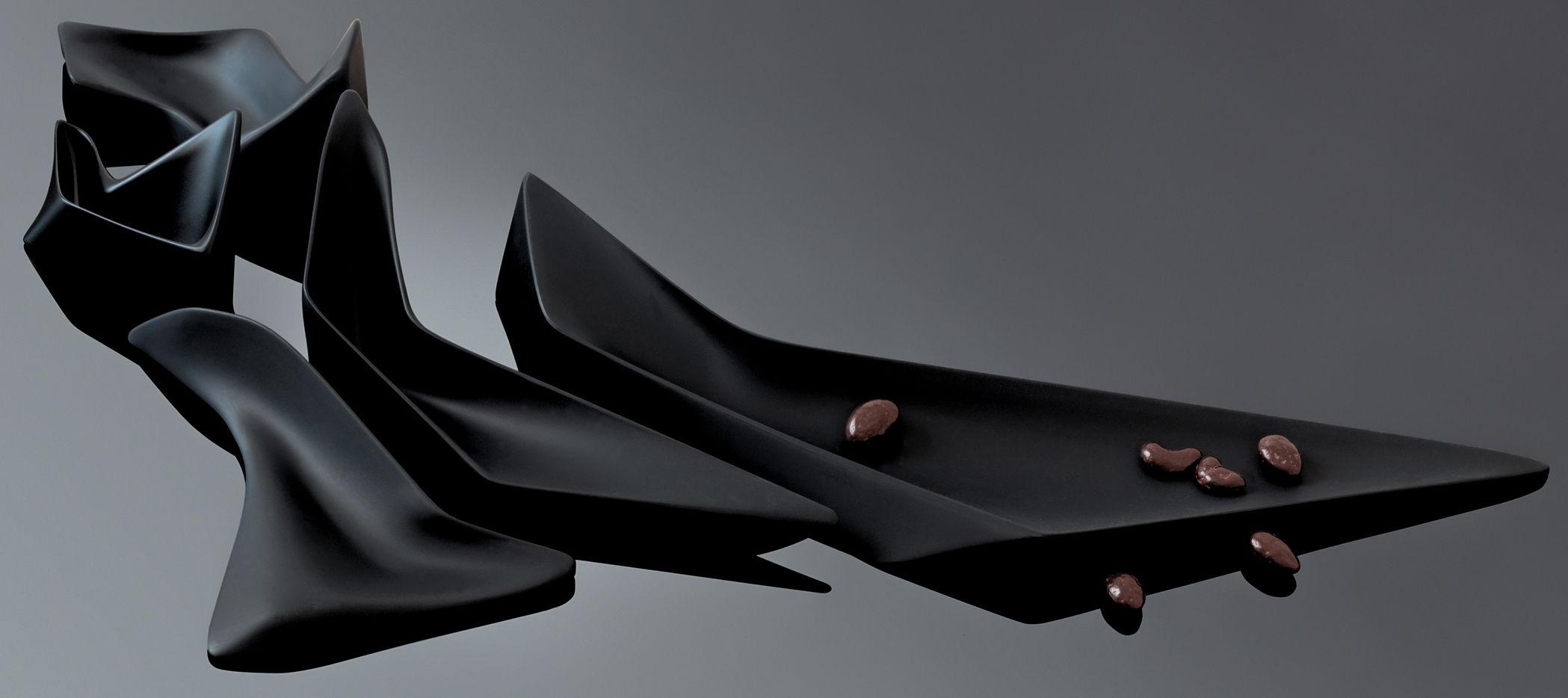 Niche Centrepiece Modular Black By Alessi