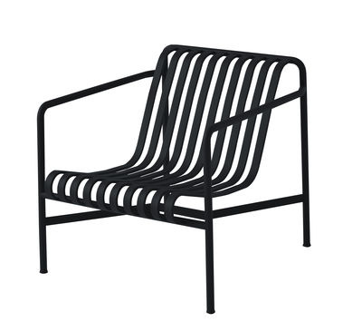 Fauteuil palissade large r e bouroullec anthracite hay - Semaine du mobilier chez made in design jusqua ...