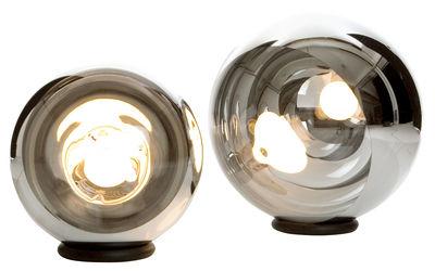 Foto Lampada da tavolo Mirror Ball Large di Tom Dixon - Cromato - Materiale plastico