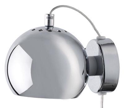 Foto Applique Ball / Ø 12 cm - Riedizione 1969 - Frandsen - Cromato brillante - Metallo