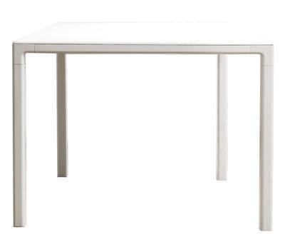 Scopri tavolo t12  / quadrato   80 x 80 cm, 80 x 80 cm / bianco di ...