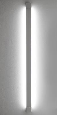 Foto Applique Pivot LED / Plafoniera - L 112 cm - Fabbian - Bianco - Metallo