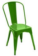 A Stuhl - lackierter Stahl...