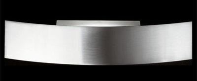 Foto Applique Riga - 70 cm di Fontana Arte - Metallo nichelato - Metallo