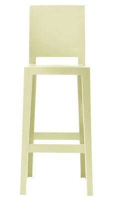 Foto Sedia da bar One more please - H 75cm di Kartell - Giallo - Materiale plastico