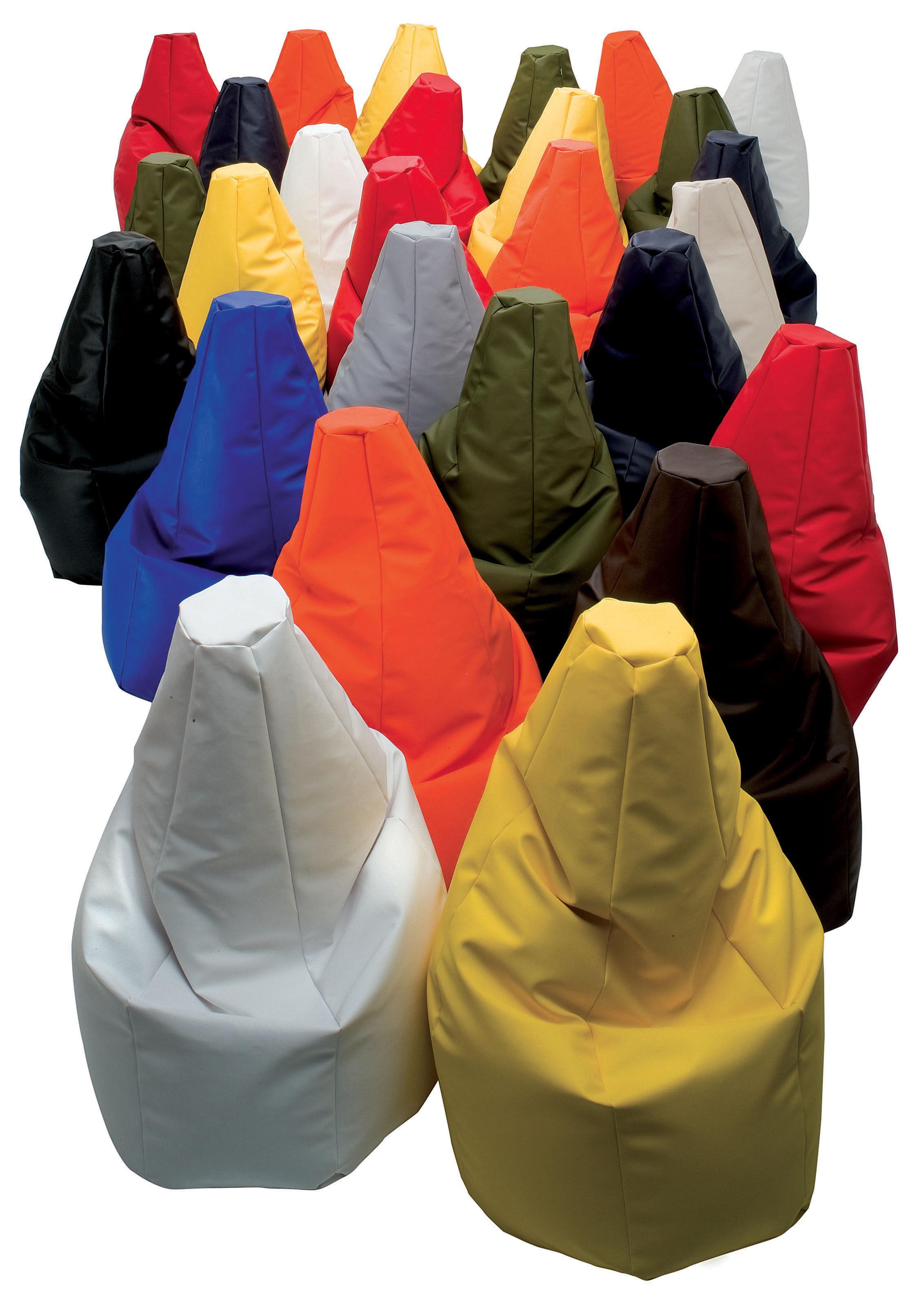 Scopri pouf sacco outdoor rosso di zanotta made in for Sacco di zanotta