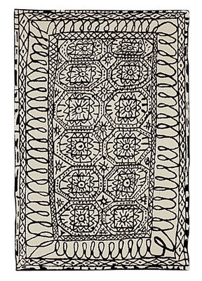 Black on white - Estambul Rug
