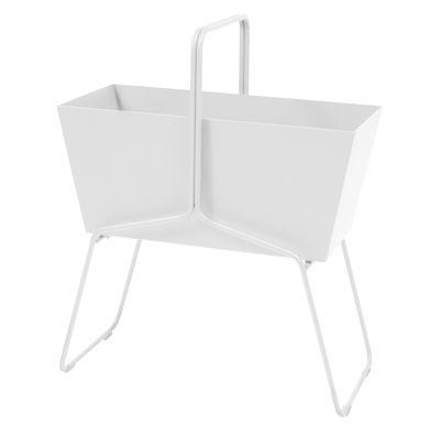 Foto Fioriera Basket alta / L 70 x H 84 cm - Fermob - Beige cotone - Metallo