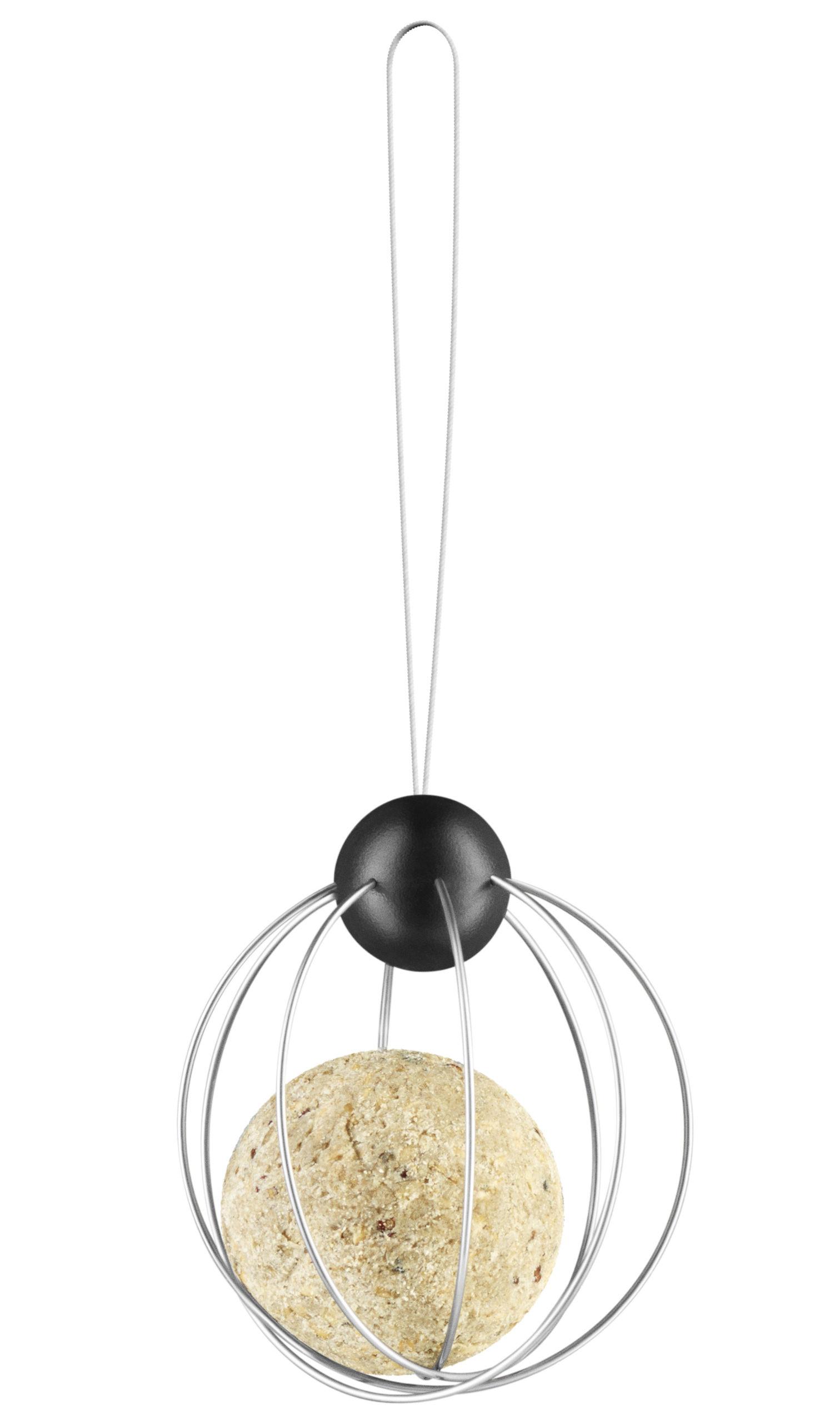 support boule de graisse pour oiseaux lot de 2 m tal noir eva solo. Black Bedroom Furniture Sets. Home Design Ideas