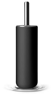 Brosse wc noir menu - Deco wc zwart wit ...