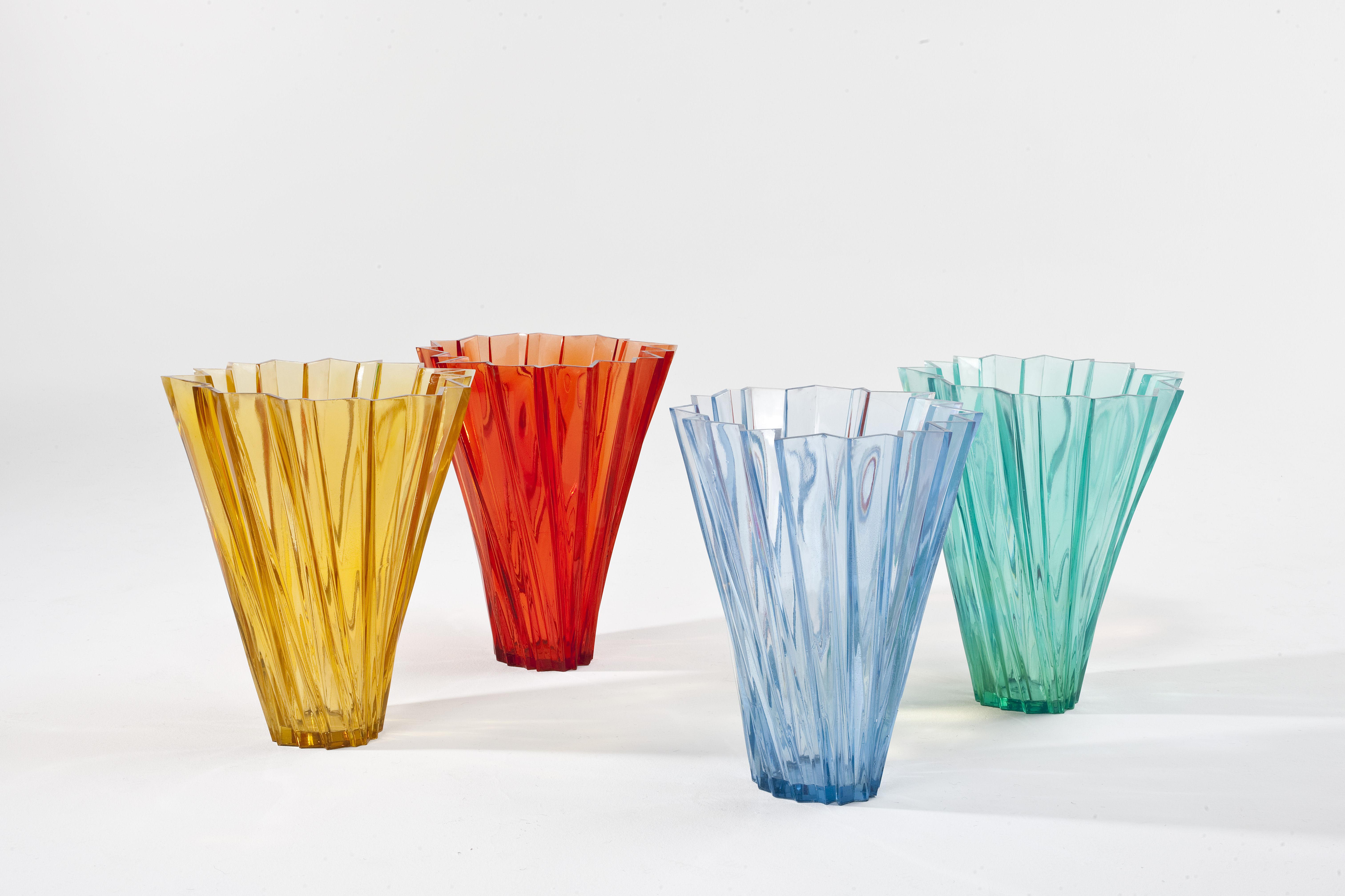 Shanghai vase crystal by kartell for Decoration kartell