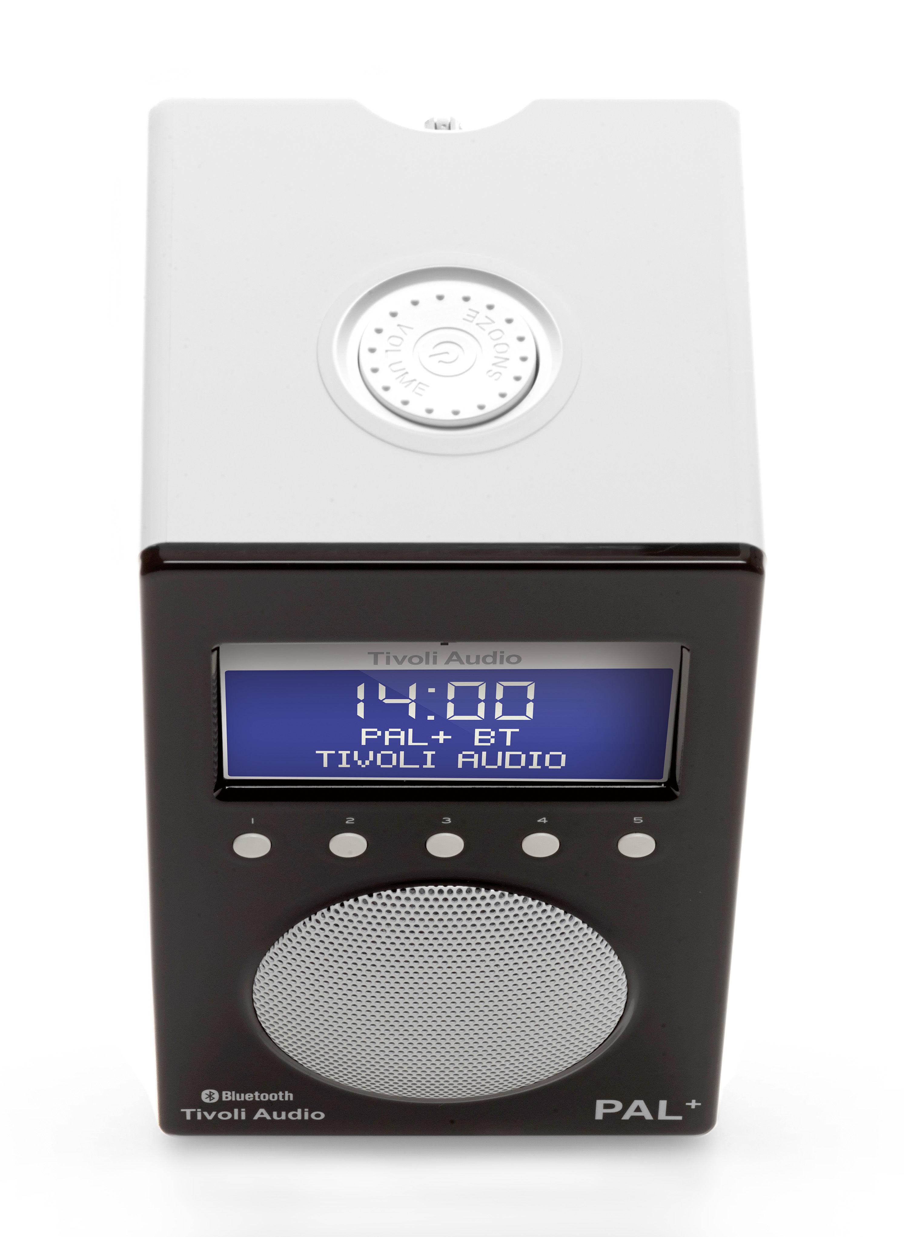 radio pal bt enceinte portative bluetooth tuner digital noir blanc tivoli audio. Black Bedroom Furniture Sets. Home Design Ideas