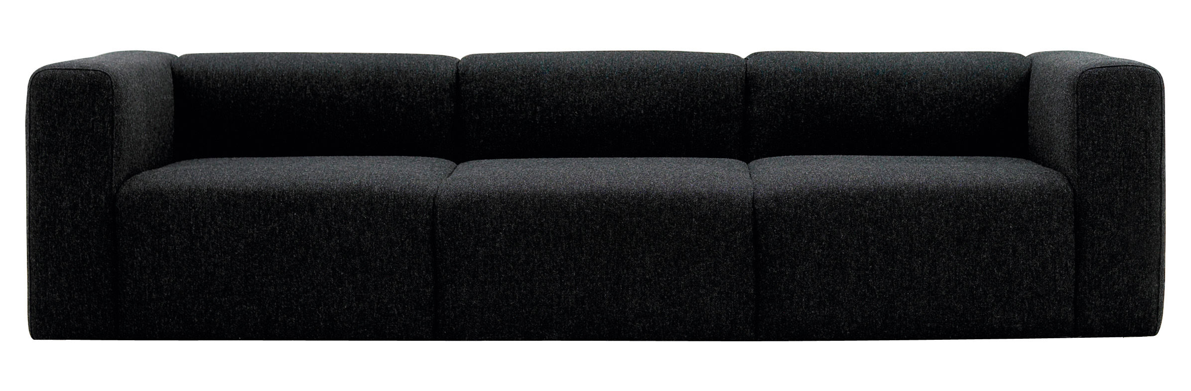 Mags straight sofa 3 seats l 266 cm hallingdal for Sofa 70 cm profundidad