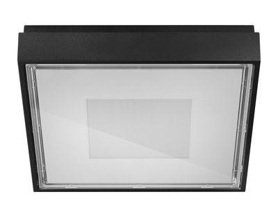 Applique Box / Plafonnier - LED - 11 x 11 cm - Panzeri Noir en Métal