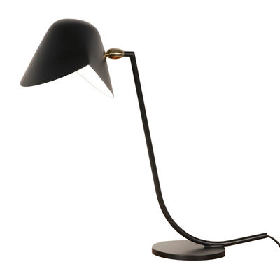 lampe de table antony 1955 noir serge mouille. Black Bedroom Furniture Sets. Home Design Ideas