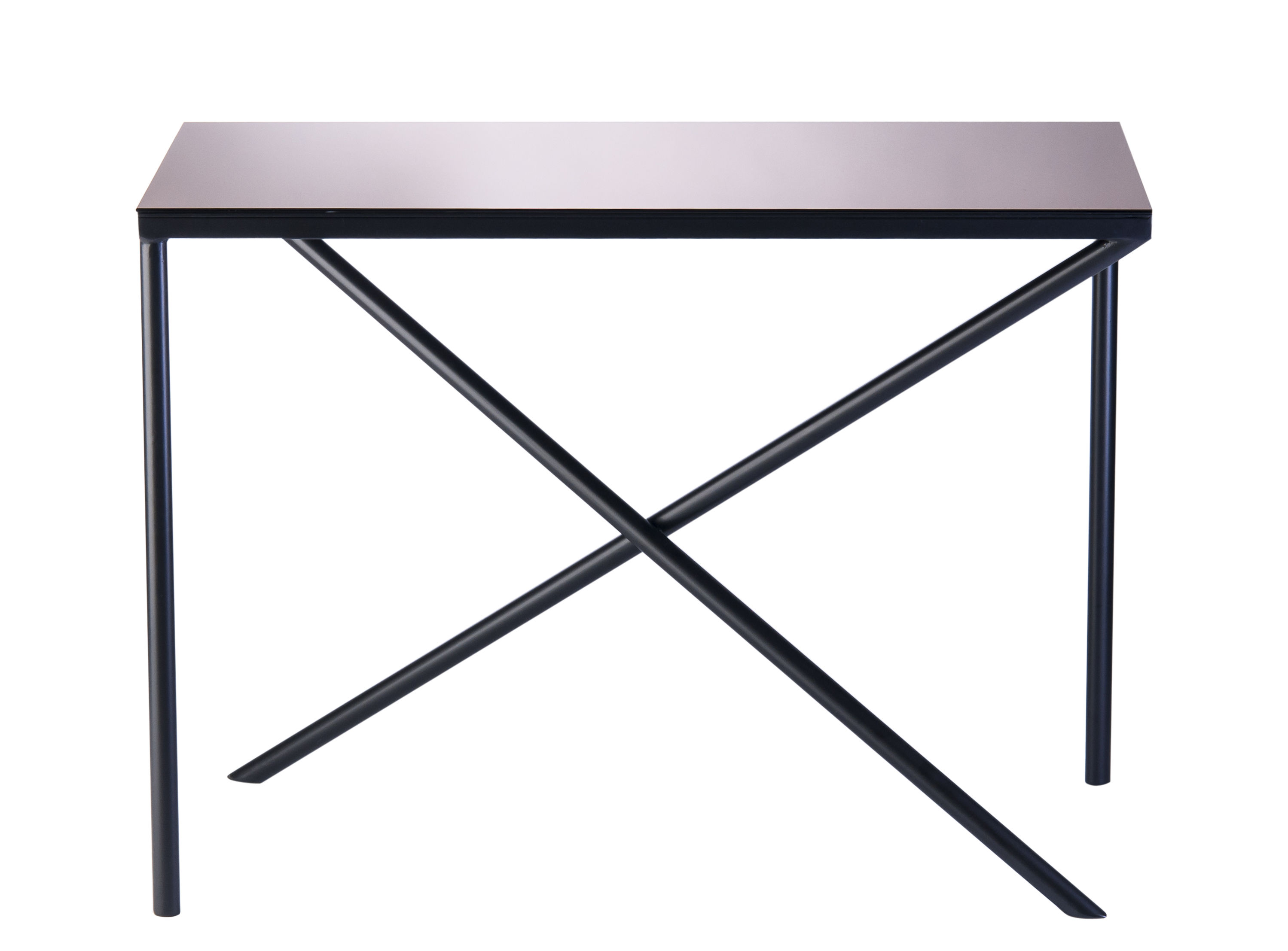 Illusion Coffee Table H 65 Cm Bronze Mirror Legs
