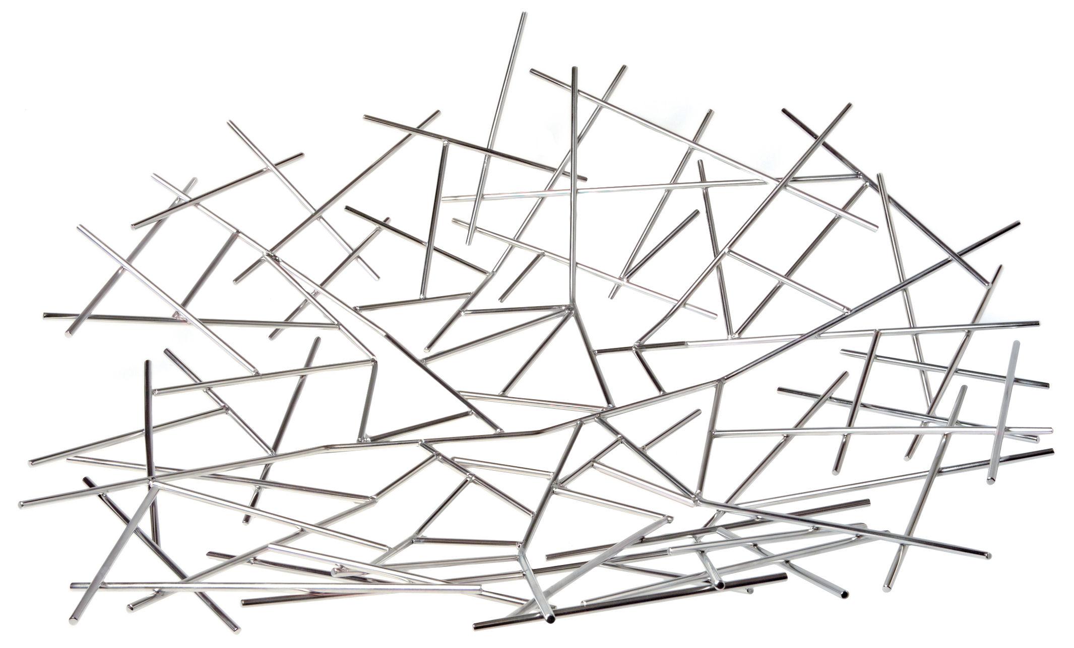 Scopri centrotavola blow up acciaio di alessi made in for Centrotavola alessi prezzi