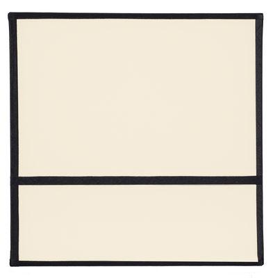 applique radieuse small non lectrifi e h 25 cm ecru orange ganses noires maison sarah. Black Bedroom Furniture Sets. Home Design Ideas