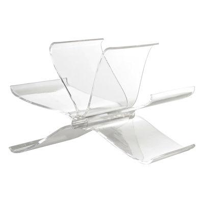Foto Portariviste Front Page di Kartell - Trasparente - Materiale plastico