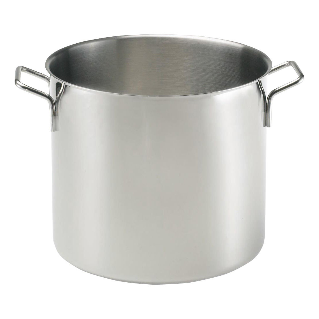 Stainless Steel Pot Stock Pot 15l Polished Steel By Eva Trio