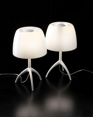 Scopri Lampada da tavolo Lumière Grande, Bianco di Foscarini, Made In Design Italia