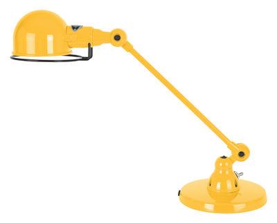 Foto Lampada da tavolo Signal - 1 braccio articolato - L 40 cm di Jieldé - Senape brillante - Metallo