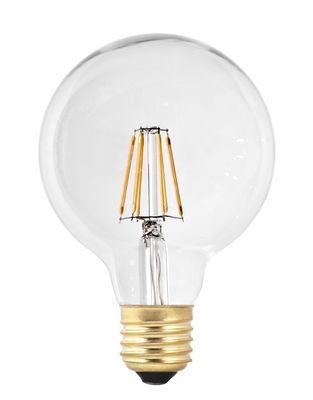 ampoule led filaments e27 g95 6w 60w transparent or pop corn. Black Bedroom Furniture Sets. Home Design Ideas