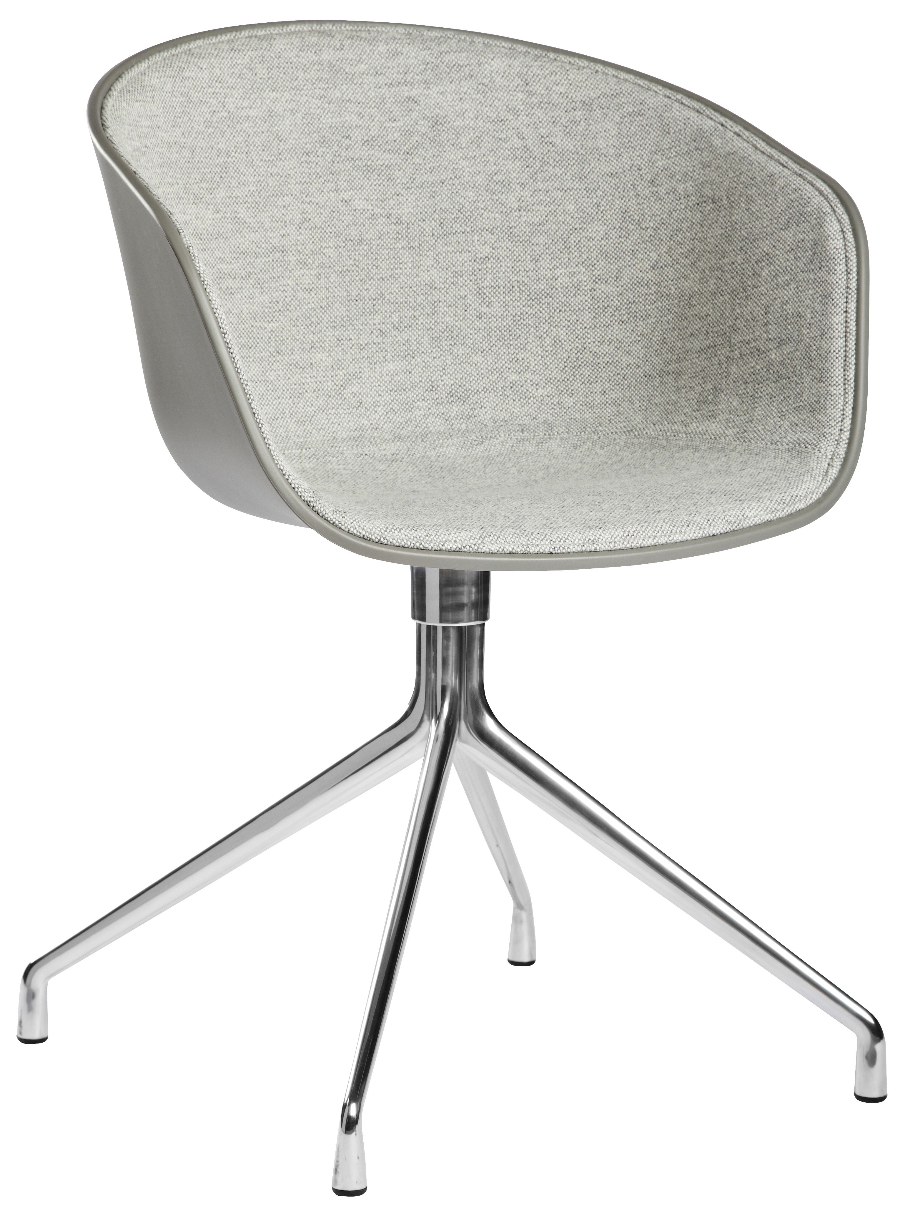 about a chair swivel armchair light grey fabric by hay. Black Bedroom Furniture Sets. Home Design Ideas