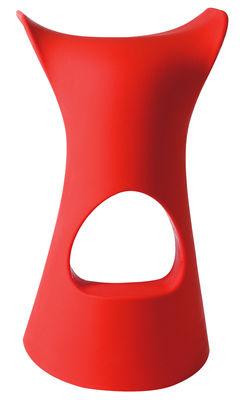 Foto Sgabello bar Koncord di Slide - Rosso - Materiale plastico