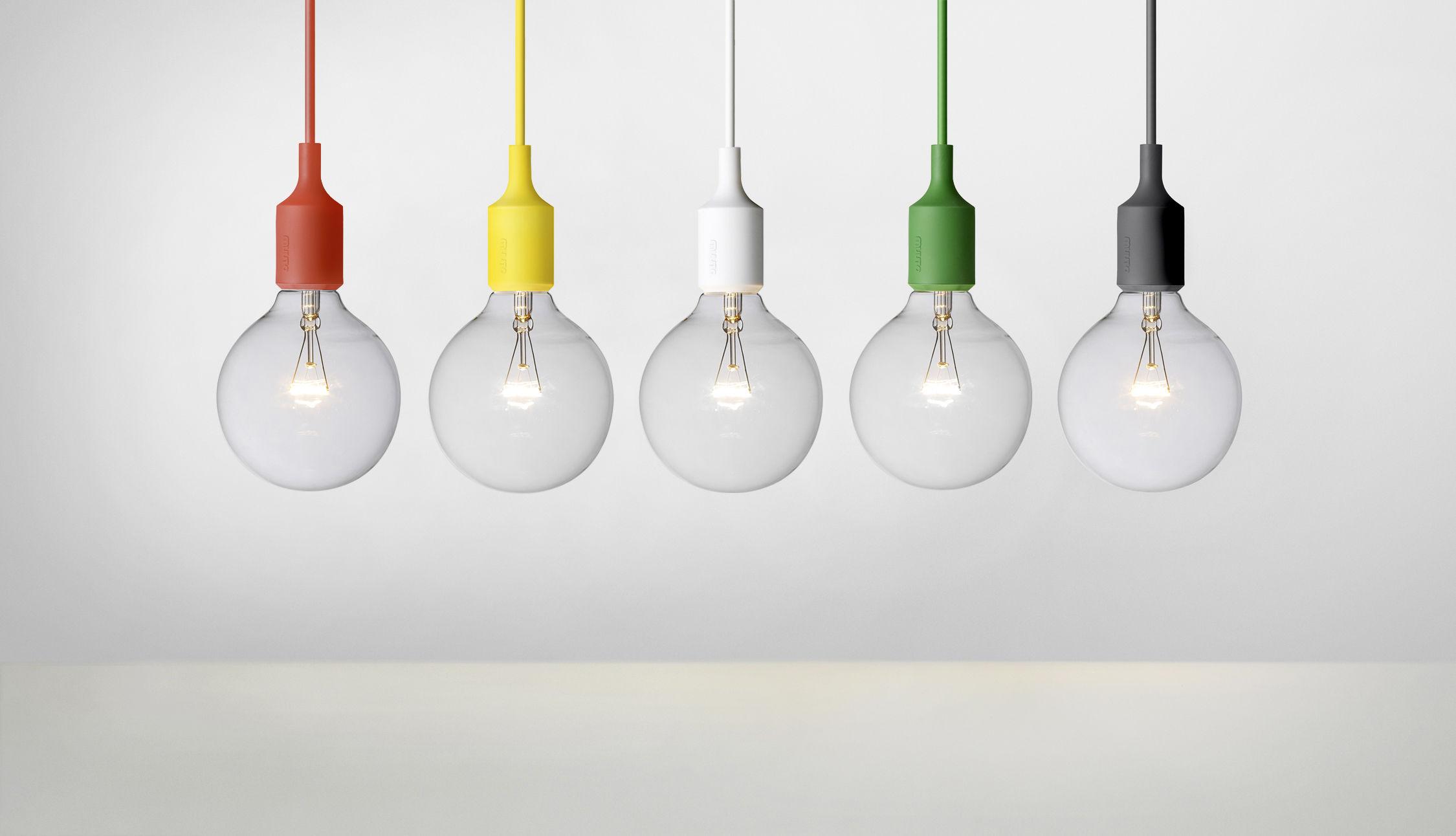 Suspension e27 muuto noir ebay - Suspension ampoule muuto ...