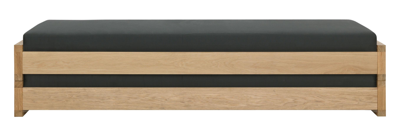 set guest 2 lits empilables 80 x 200 cm avec matelas ch ne zeitraum. Black Bedroom Furniture Sets. Home Design Ideas
