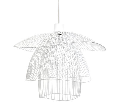suspension papillon small 56 cm blanc forestier. Black Bedroom Furniture Sets. Home Design Ideas