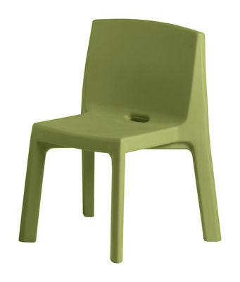 Foto Sedia Q4 di Slide - Verde - Materiale plastico