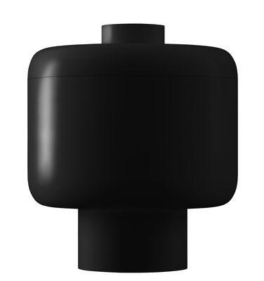 Foto Candela profumata Nikko / H 14 cm - 60 ore - Kartell Fragrances - Nero - Materiale plastico
