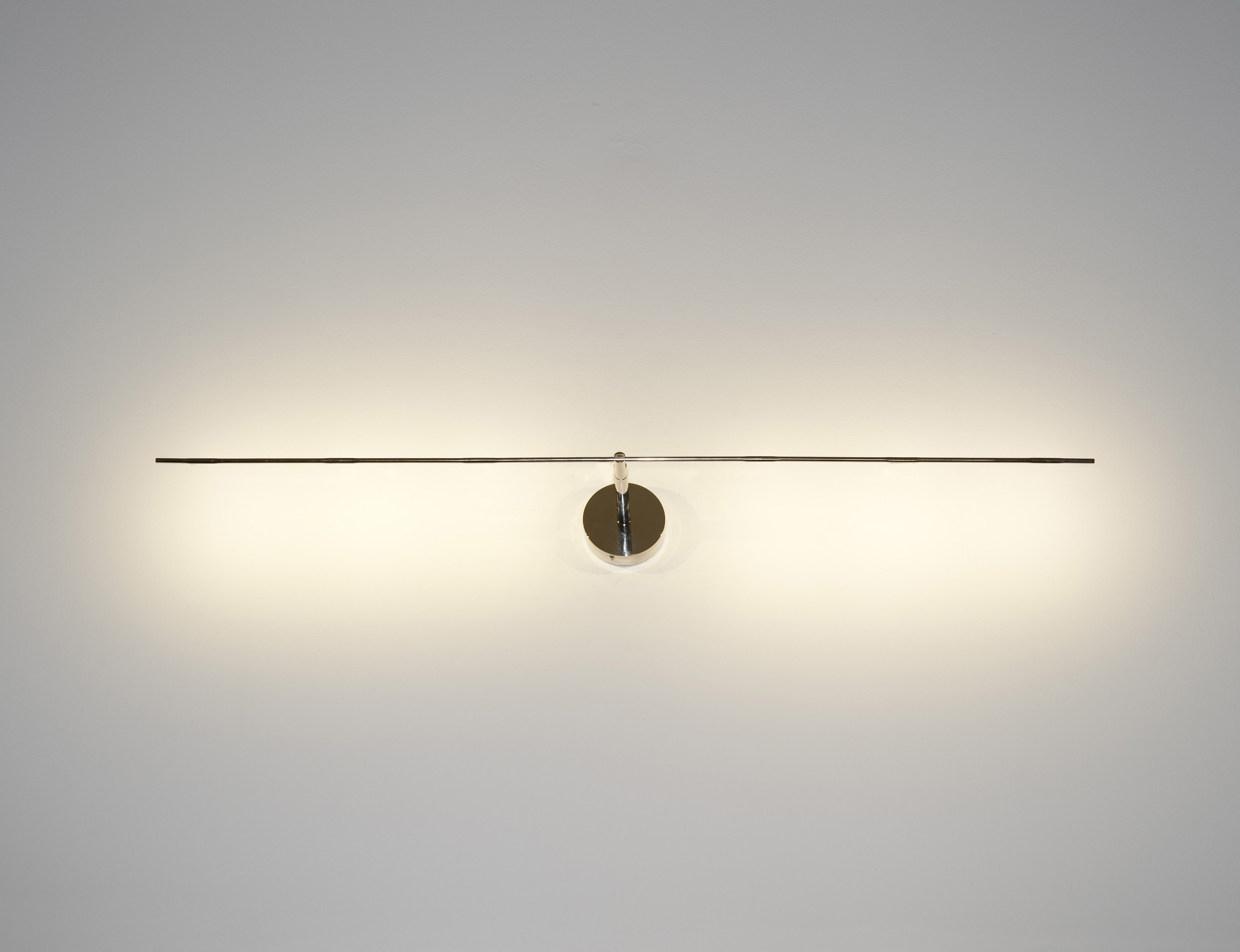 Lights That Stick On The Wall : Light stick Wall light - LED - L 61 cm Aluminium - L 61 cm by Catellani & Smith