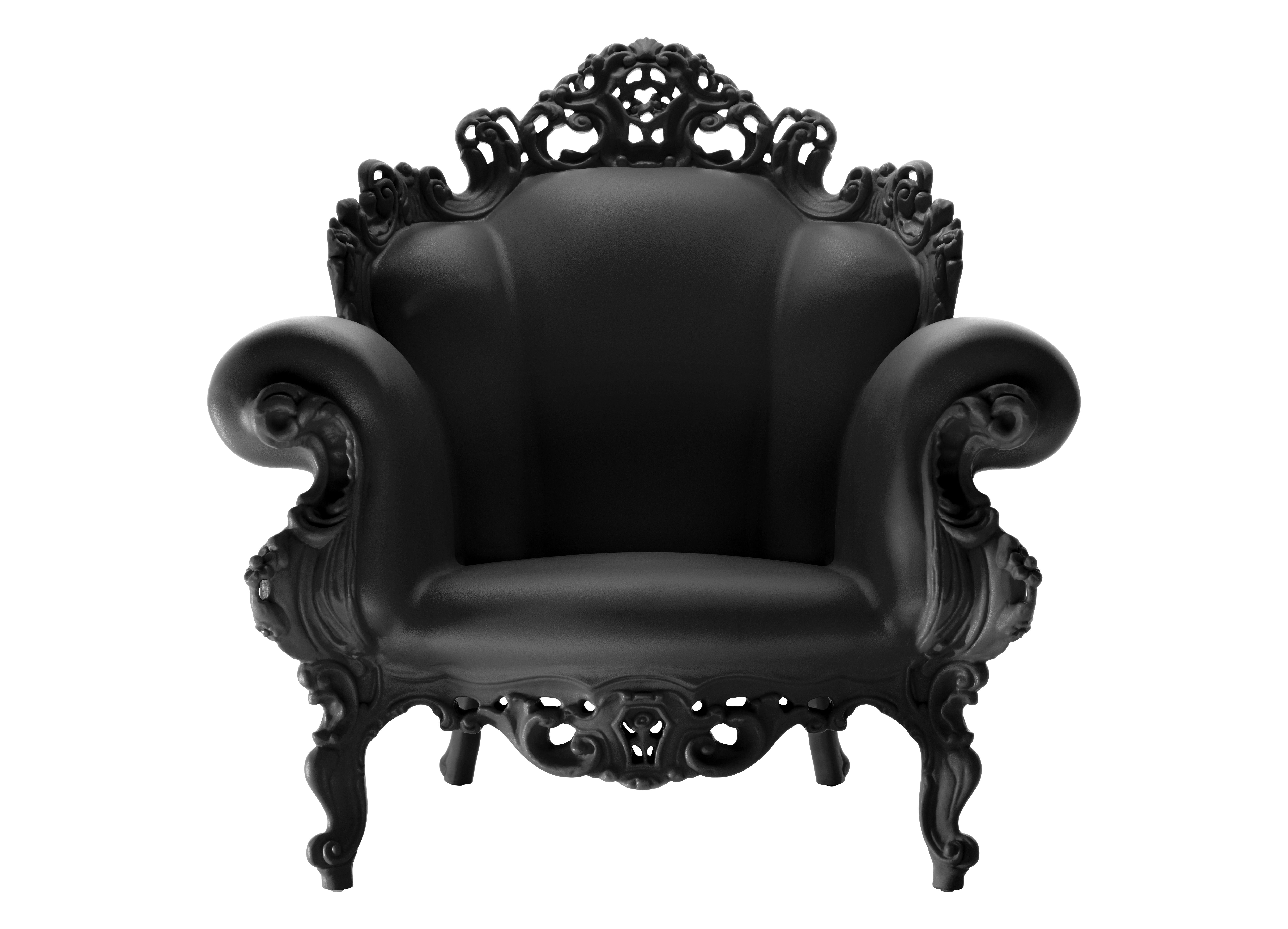 fauteuil magis proust noir magis. Black Bedroom Furniture Sets. Home Design Ideas