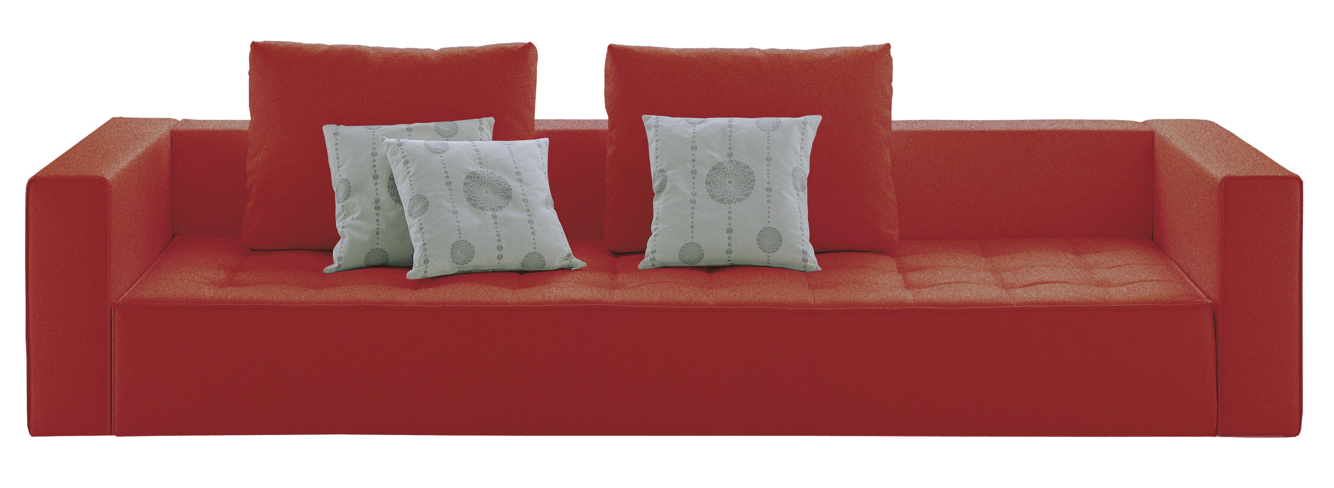 canap droit kilt tissu 3 places l 234 cm tissu. Black Bedroom Furniture Sets. Home Design Ideas
