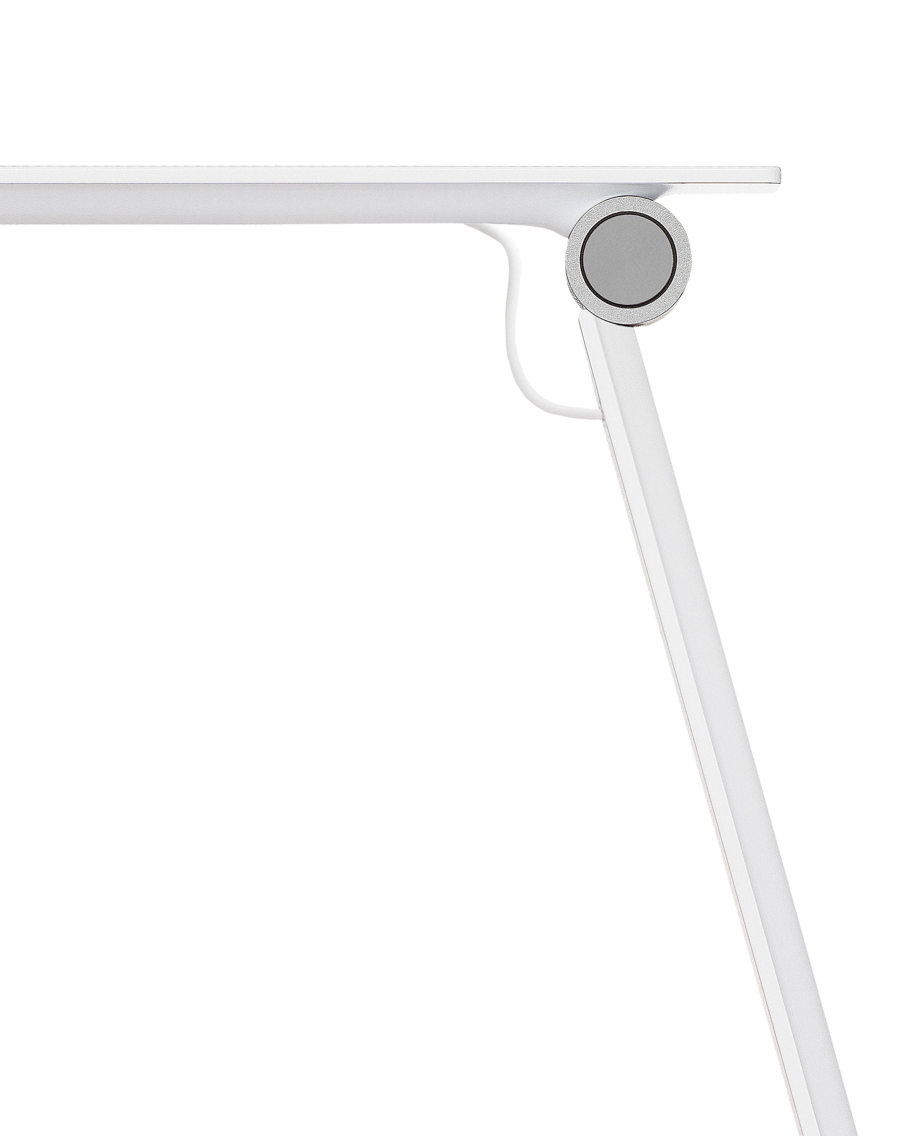 lampe de table njp led bras articul blanc eclairage. Black Bedroom Furniture Sets. Home Design Ideas