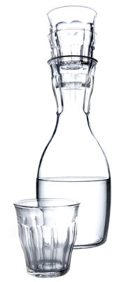 French  Carafe - With 4 glasses