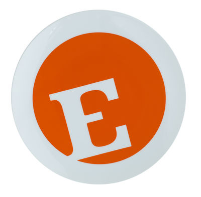 Typo Collection Dinner plate - Letter E