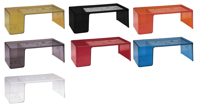 Table basse usame cristal kartell - Table basse en plexi ...