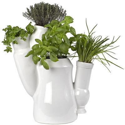 vase multiculti blanc pols potten. Black Bedroom Furniture Sets. Home Design Ideas