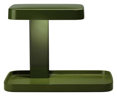 Foto Lampada da tavolo Piani - LED / svuotatasche di Flos - Verde - Materiale plastico
