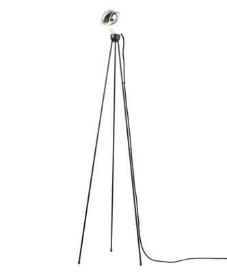 Foto Lampada a stelo Tripod 180° - / LED di Azimut Industries - Bianco,Nero - Metallo