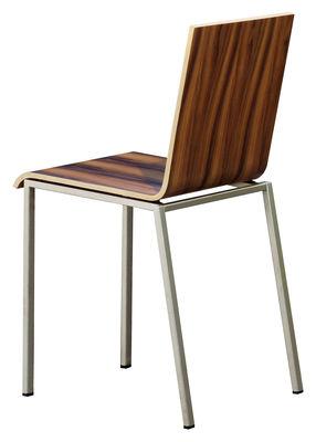 chaise bianca bois m tal palissandre zeus. Black Bedroom Furniture Sets. Home Design Ideas