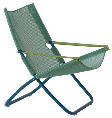 Foto Chaise longue Snooze di Emu - Blu - Metallo